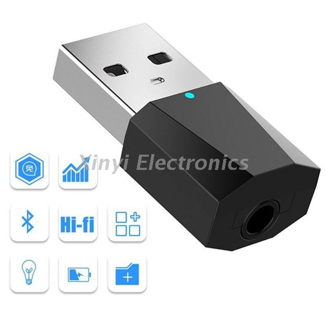 Wireless Stereo Audio Receiver Portable Bluetooth 4.2 Audio Adapter for Phone