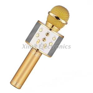 Portable Wireless Bluetooth Handheld Karaoke Microphone For Smartphone